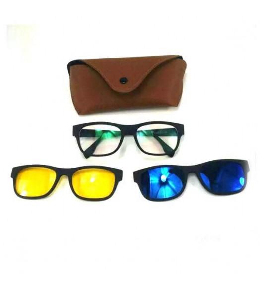 نظارت ليلية و نهارية مع 3 عدسات