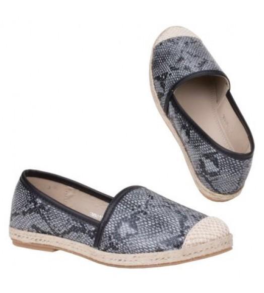 حذاء جلد الحيه