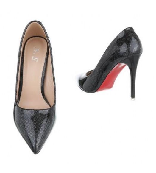 حذاء جلد الحية