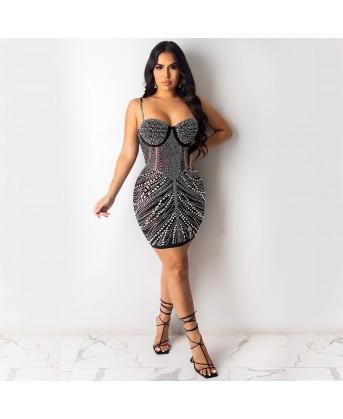 فستان كرستال