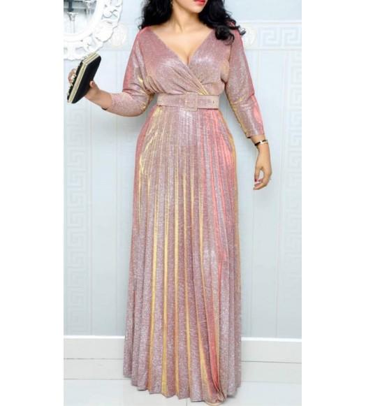فستان ماكسي كبس