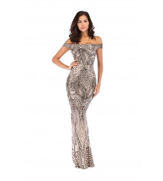 فستان طويل اندرلا ترتر