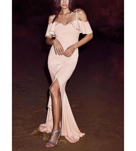 فستان سترابس  ماكسي