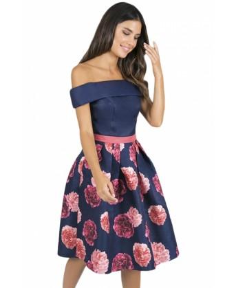 فستان سكيتر فلور