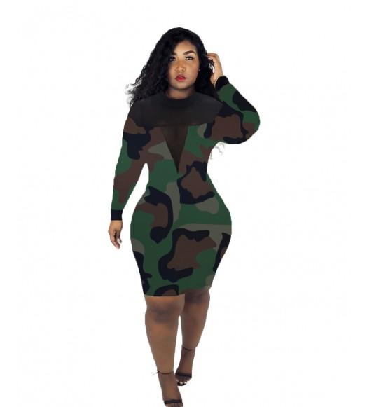 فستان بوديكون عسكري