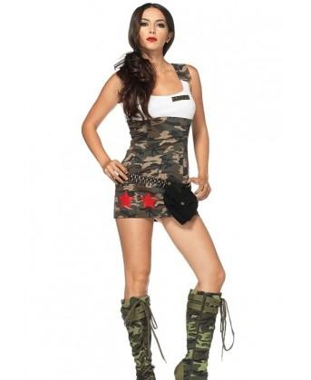فستان عسكري