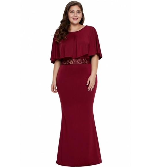 فستان بلس سايز ماكسي