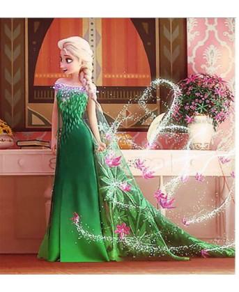 فستان فروزن