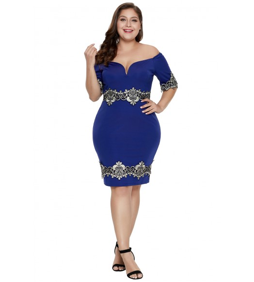 فستان بلس سايز فنتاجي