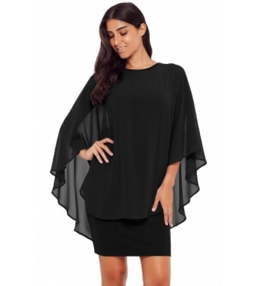 فستان كاب شيفون