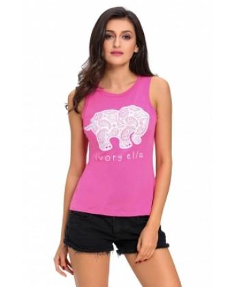تي شيرت طبعة الفيل